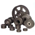 250X4SPZ - T/LOCK PULLEY SUIT 2517 BUSH